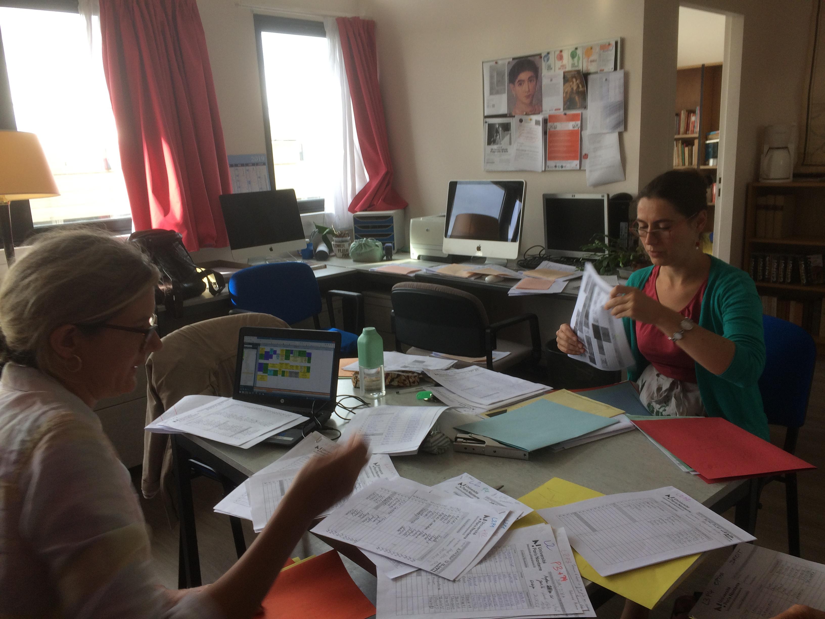 Préparation des inscriptions pédagogiques fin août